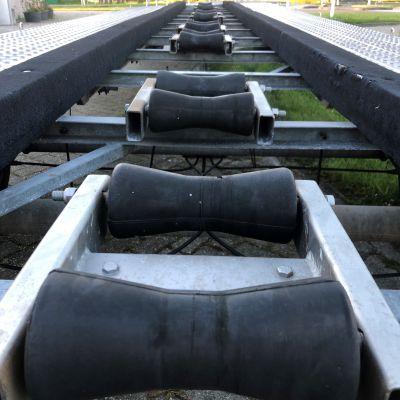 bootrollen zwart rubber