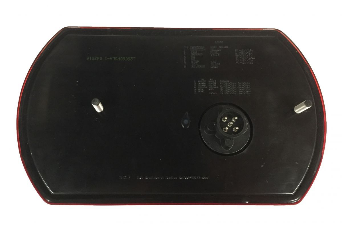 achterlicht 6 functies rechts 5 pin 12v