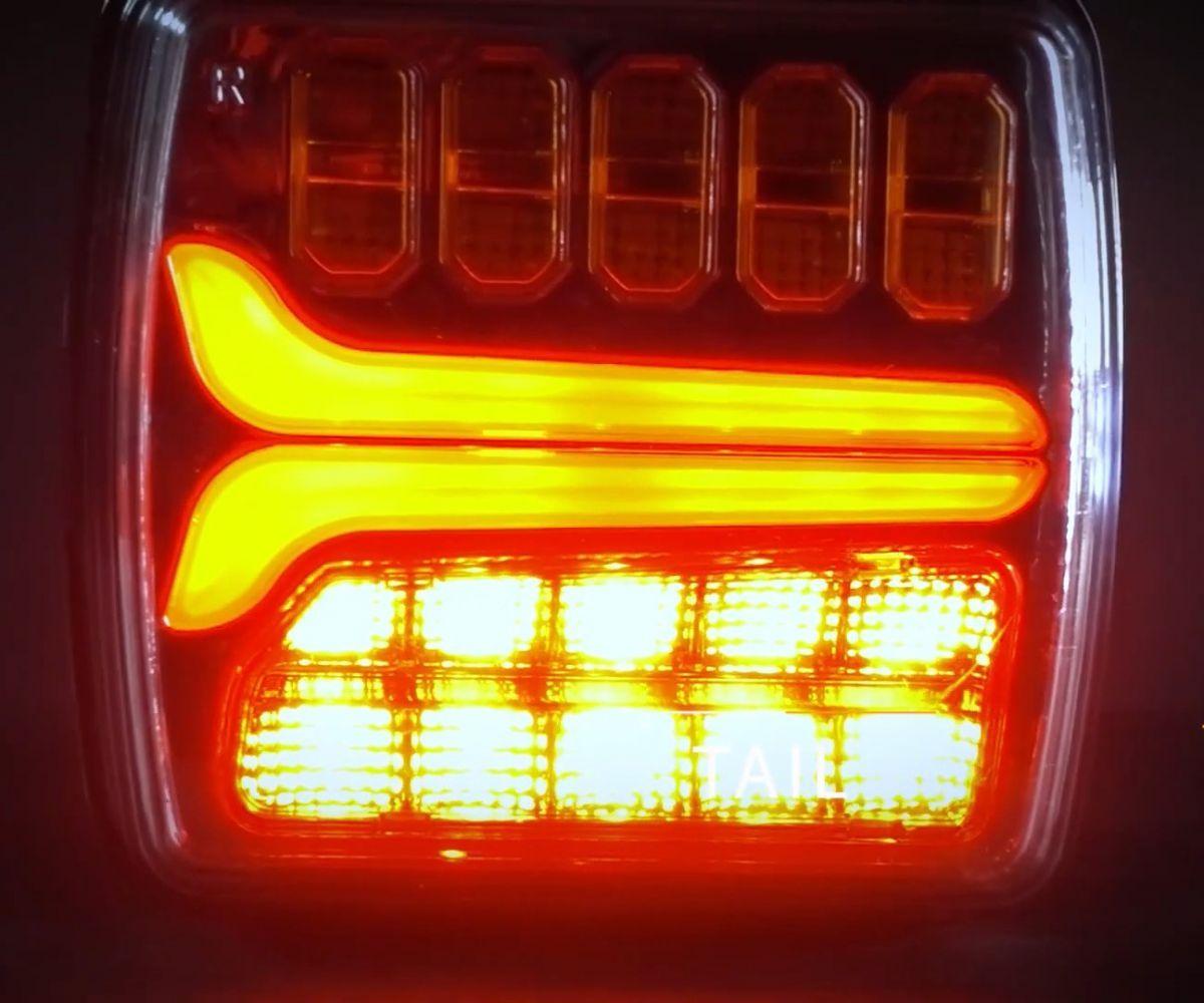 achterlicht met dynamische richting rechts 1224v