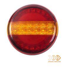Achterlicht met dynamische richting Rechts 12-24V
