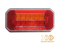Achterlicht met dynamische richting Rechts12-24V