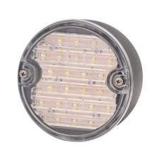 Achteruitrijlamp rond 12-24V