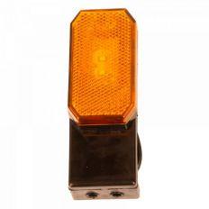 Breedtelamp oranje LED 12-24V