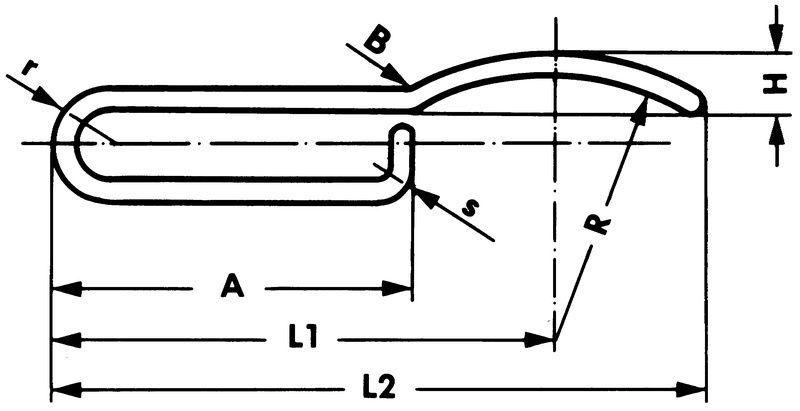 chassisklem 8mm