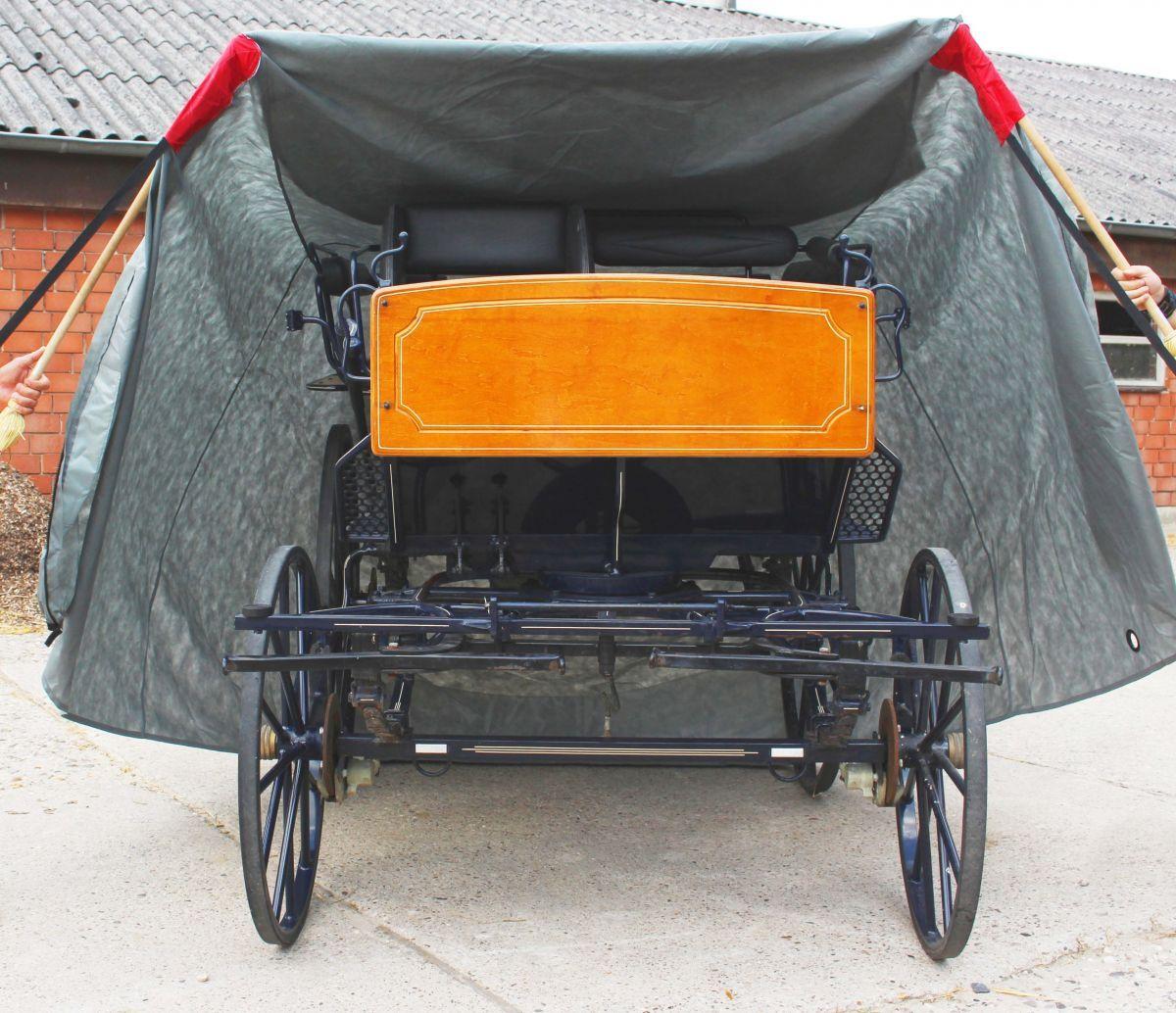 hoes voor koets trainingswagen groot