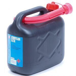 jerrycan zwart 5 liter