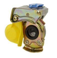 Koppelstuk luchtspiraal M22 geel