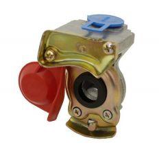 Koppelstuk luchtspiraal M22 rood