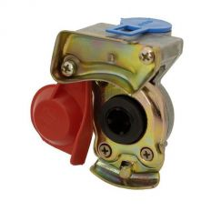 Koppelstuk luchtspiraal M22 rood automaat