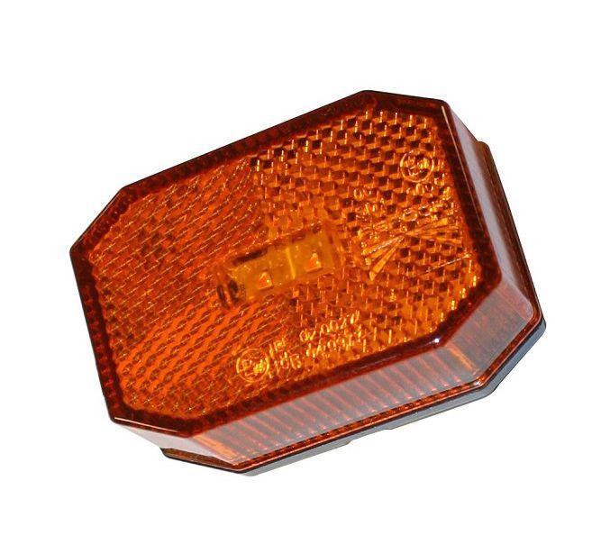 markeringslamp led aspock oranje