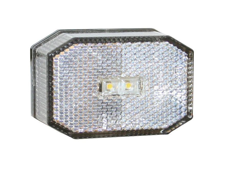 markeringslamp led aspock wit