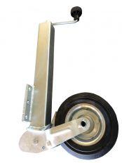 Neuswiel 60 mm metaal/rubber *klapbaar*
