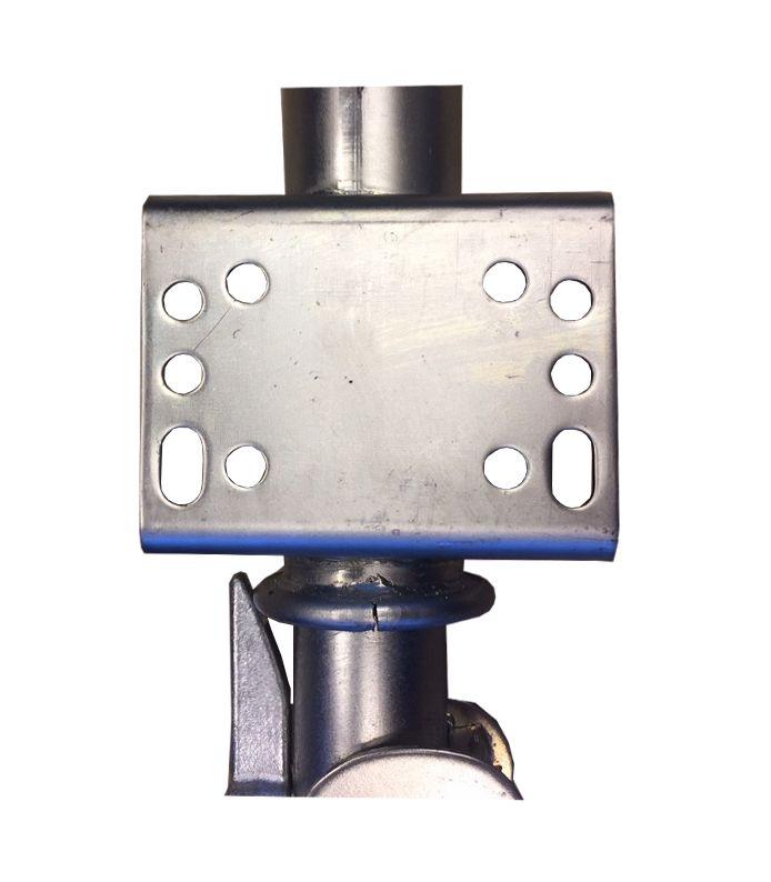 neuswiel 60 mm metaalrubber klapbaar