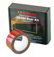 Reflecterend tape rood
