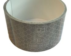 Reflecterend tape zilver