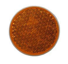 Reflector oranje Ø63