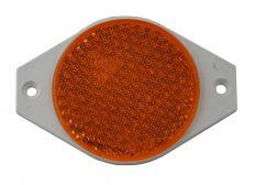 Reflector oranje schroefbaar