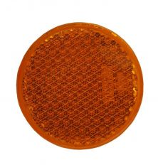 Reflector oranje schroefbaar Ø63