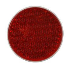 Reflector rood Ø63