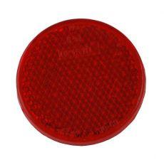 Reflector rood schroefbaar Ø63
