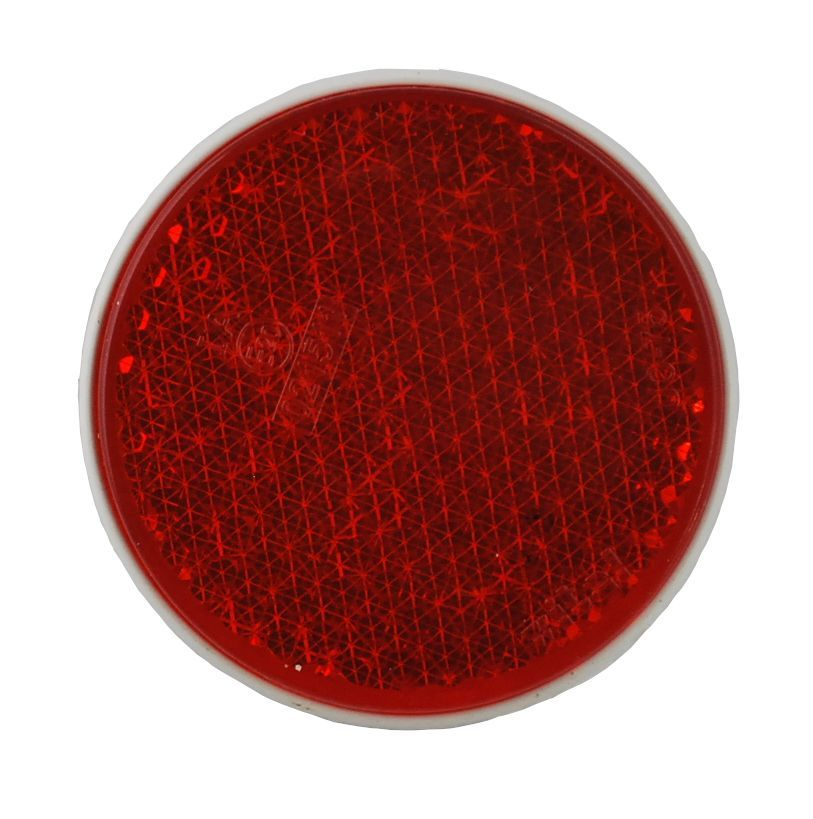reflector rood schroefbaar 81