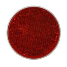 Reflector rood schroefbaar Ø81