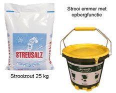 Rotho Handstrooier met 25kg strooizout