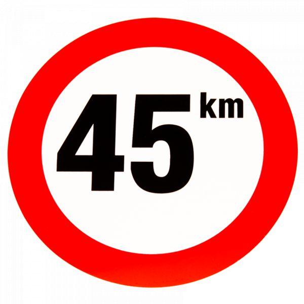 sticker 45km