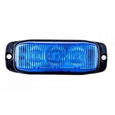 Strobe LED flitser blauw