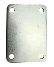 Stroppenplaat dubbel 63mm, diverse afmetingen