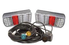 Verlichtingsset LED kabellengte 6 meter, 13P 12V