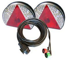 Verlichtingsset LED kabellengte 8 meter, 13P 12V