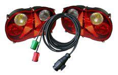 Verlichtingsset RADEX waterproof 7 meter