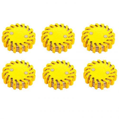 Waarschuwingslamp per set van 6 stuks verkrijgbaar